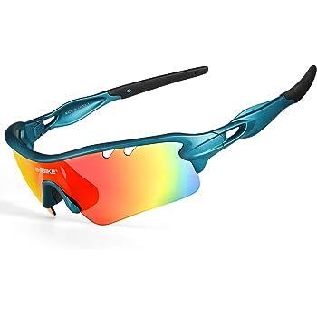 Occhiali POLARIZZATI con cinghia per Ciclismo BMX Freestyle Skate Mountanbike