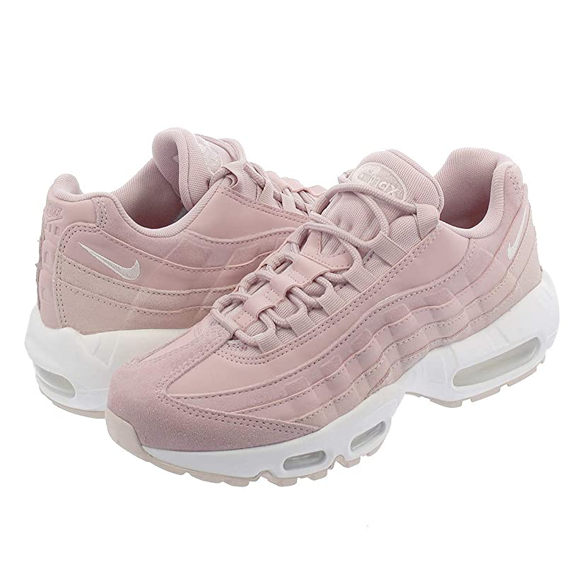 国旗血まみれ適格[ナイキ] WMNS AIR MAX 95 PRM PLUM CHALK/BARELY ROSE/SUMMIT WHITE [並行輸入品]
