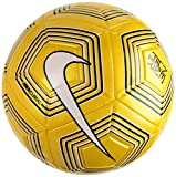 Nike Neymar Strike Ballon de Foot Mixte Adulte, Amarillo/White/Black/White, 5