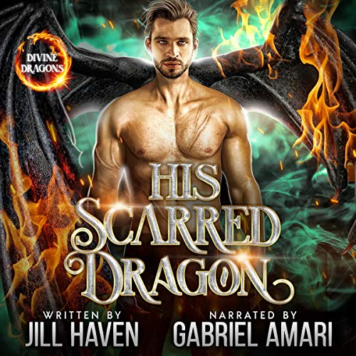 His Scarred Dragon cover art