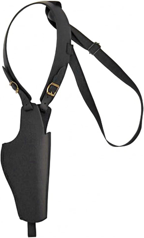 Schulterholster aus Leder schwarz B078K8B381  Der neueste Stil