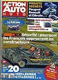 ACTION AUTO MOTO N? 1 du 01-04-1994 PROJETS SECRETS : PEUGEOT, RENAULT ET CITROEN....