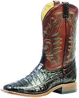 American Boots - Cowboy Exotic (Alligator) BO-9500-65-E (Normal Walking) - Men - Brown