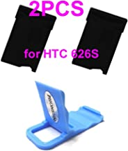 Black Sim Card Holder Slot Tray Replacement for AT&T HTC Desire 626 + PHONSUN Portable Cellphone Holder