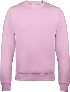 Just Hoods By AWDis Sweatshirt JH030 Baby Pink Medium