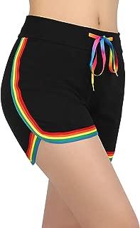 retro running shorts