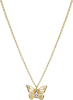 Kate Spade New York - Social Butterfly Mini Pendant Necklace