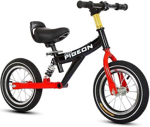 n ° 1 en línea Hejok Bicicleta De Equilibrio negro, Bicicleta Bicicleta Bicicleta De Equilibrio Deportivo Bicicleta De Equilibrio para Niños, Niños Y mujeres Deslizadores Sin Pedales Doble Rueda 2-3-6 años  alto descuento