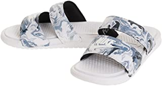 Womens Benassi Duo Ultra Slide Womens 819717-002 Size 6 Black/White