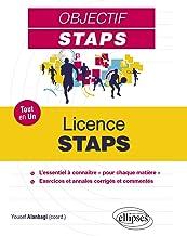 Livres Tout-en-un STAPS - Licence STAPS PDF