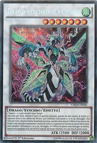 YU-GI-OH! - Clear Wing Synchro Dragon (CROS-EN046) - Crossed Souls - 1st Edition - Secret Rare