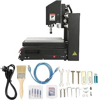 Máquina de grabado CNC con controlador fuera de línea, máquina grabadora de enrutador CNC de escritorio integrado de acero de alta resistencia de 400 W, para madera, plástico, acrílico, PCB, PVC(EU)