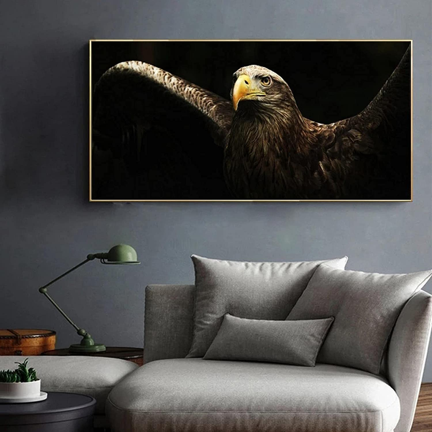 ZXWL Great interest Modern Animal Art High quality new Posters Canvas Painti and Prints Wall
