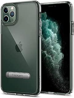 【Spigen】 スマホケース iPhone 11 Pro Max ケース 6.5インチ 対応 スタンド付き キックスタンド 全面 クリア 米軍MIL規格取得 ウルトラ・ハイブリッド S 075CS27137 (クリスタル・クリア)