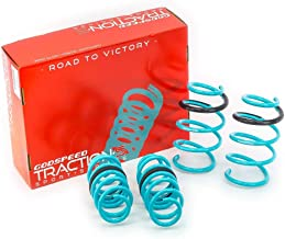 Godspeed LS-TS-TA-0013 Traction-S Performance Lowering Springs, Reduce Body Roll, Improved Handling, Set of 4