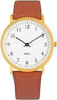 Projects Watch M&Co Bodoni Brass 7401BR-BR