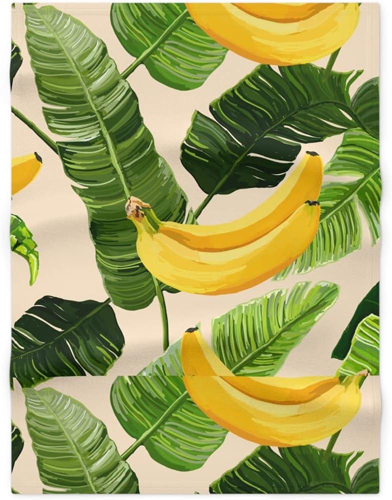 Banana Fleece Blanket for Baby Kids Soft Fort Worth Mall Co Girls Store