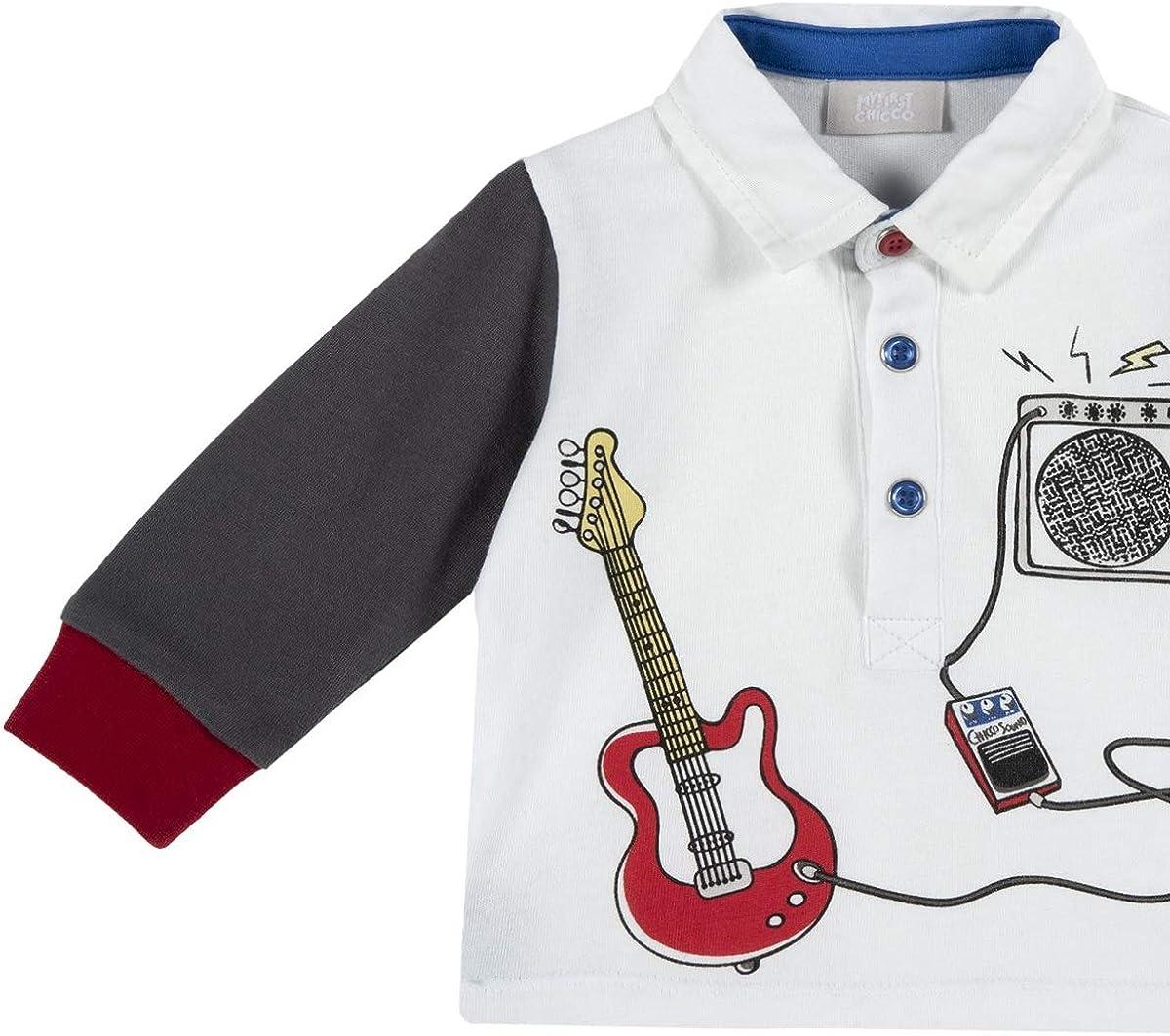 Chicco Jungen Maniche Lunghe Lang/ärmliges Polo-Shirt