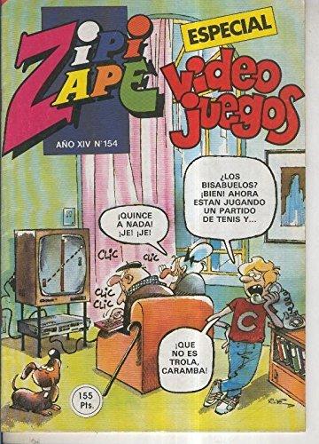 Zipi y Zape especial numero 154: Video juegos