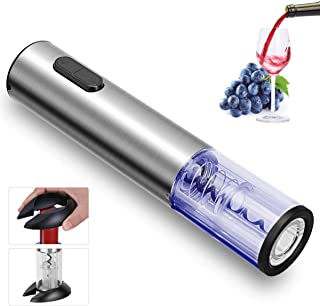 REDMOND Electric Wine Opener, Rechargeable Cordless Stainless Steel Automatic Corkscrew..