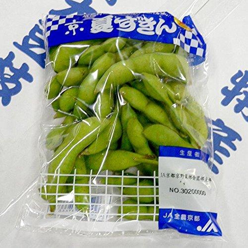 京都産  京夏ずきん 丹波黒大豆枝豆 5袋 200g/1袋