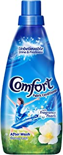 Comfort After Wash Morning Fresh Fabric Conditioner (Fabric Softener) - For Softness, Shine And Long Lasting Freshness, 86...