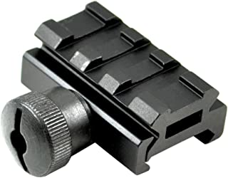 Sniper Low Profile Picatinny Riser Mount with 3 Slots