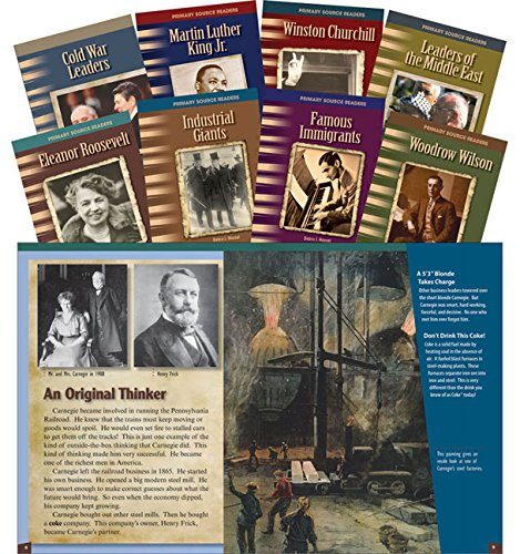 20th Century Leader Set (Primary Source Readers) (Teacher Created Materials Library Set)