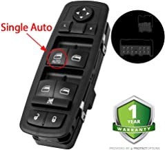 Driver Side Master Power Window Switch 4602632AG - For 2008-2012 Dodge Nitro & Jeep Liberty, and 2009 2010 Dodge Journey(Single AUTO Down)