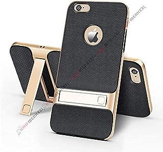 iPhone 7 Kılıf Standlı Koruma Kabı + Apple İphone 7 Kırılmaz Cam Ekran Koruyucu