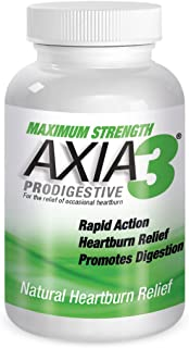 Sponsored Ad - Axia Essentials Axia3 ProDigestive Natural Heartburn Relief, 90 count