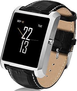 Smart Horloge Mannen Bluetooth Call Rvs 15 Dagen Standby 240 * 240 Hartslag Monitor SmartWatch voor Android IOS