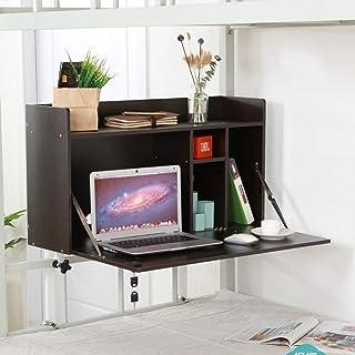 Tables HAIZHEN Pliable Tableau d'ordinateur Portable de Bureau d'ordinateur pour l'installation Libre de dortoir de lit d'...