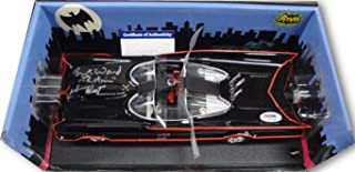 adam west autographed batmobile
