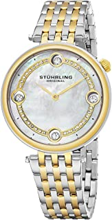 Stuhrling Women's Silver Dial Stainless Steel Band Watch - 716.02, Analog Display