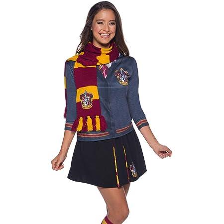 Rubie's - Echarpe Luxe Officiel Gryffondor - Harry Potter, H-39033, Taille Unique, Rouge