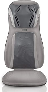HoMedics, Shiatsu Elite Pro Massage Cushion With Heat | Full Back Kneading Shiatsu or Rolling Massage | Optional Heat & Height Adjustment | Programmed Controller & Integrated Strapping System