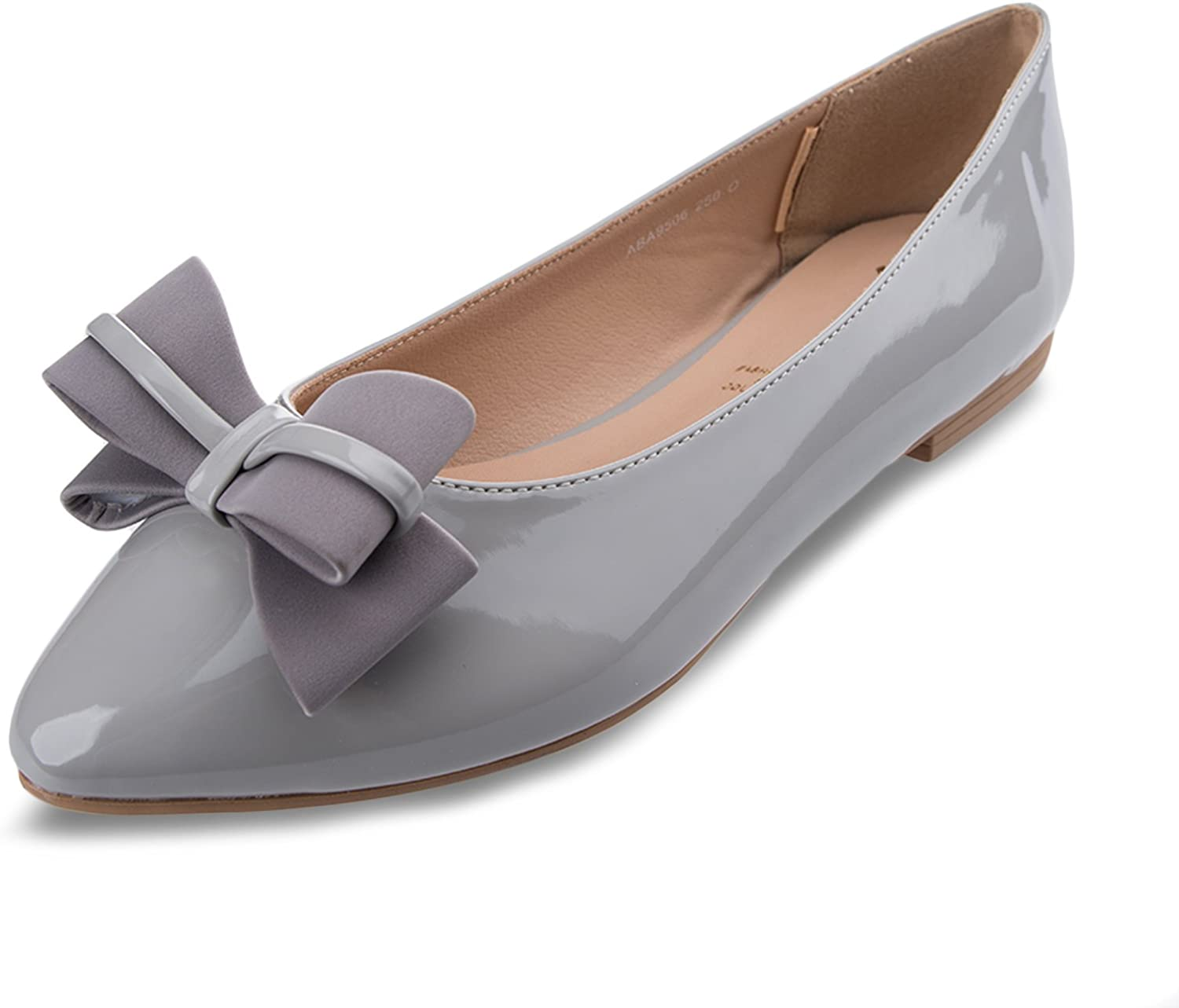 BF Sole Women's Double Bow Dress Slip On Flat shoes