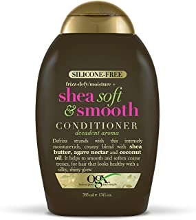 OGX Frizz-Defy/Moisture + Shea Soft & Smooth Conditioner, 13 Ounce