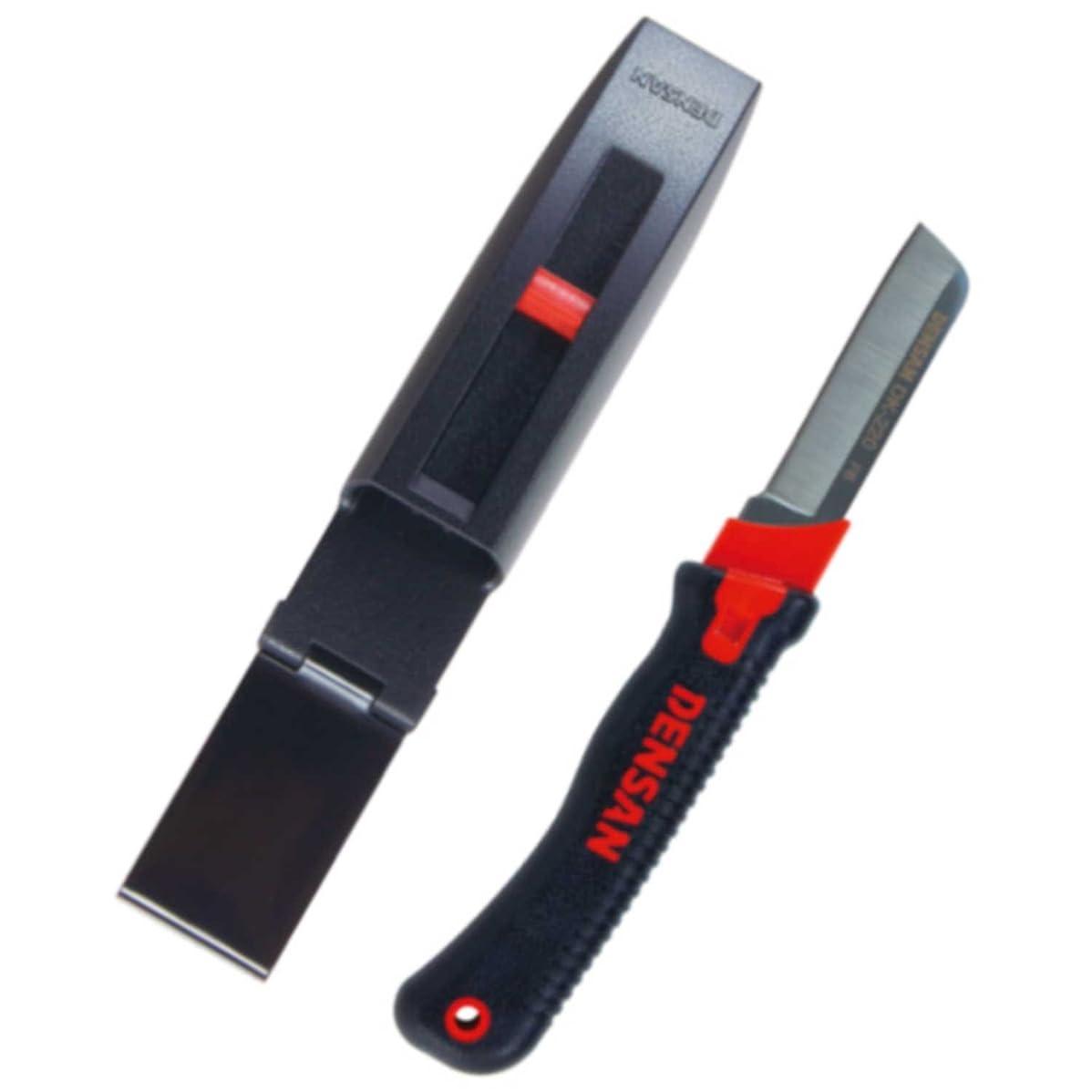 ミッション証言許すデンサン 電工プロナイフ 専用ホルダー付 DK-220