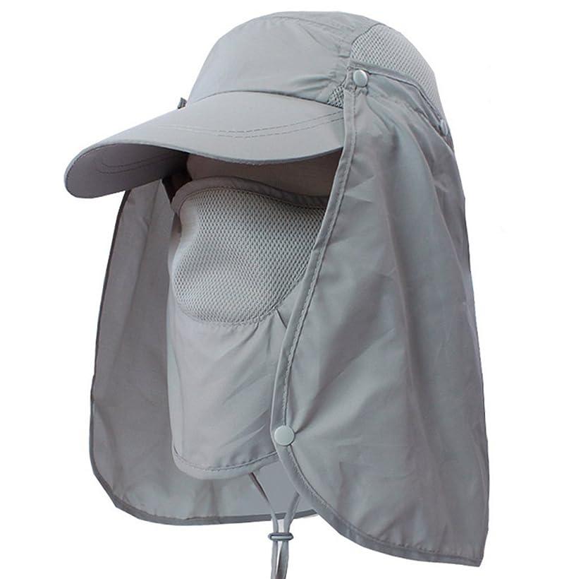 パースブラックボロウ小切手非常にQZSKY 日焼け防止 花柄帽子 日よけ帽 UVカット レディース シェード付きハット 日除け帽 農作業ネックカバー  自転車 レインキャップ 紫外線対策ハット 小顔効果帽子
