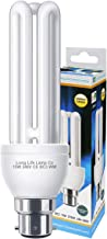 3 Pin BC3 Light Bulb CFL 15w Equivalent 75w Warm White 2700k Energy Saving Compact Fluorescent 240v