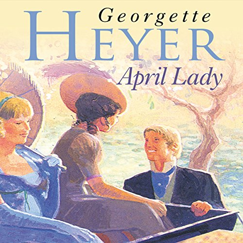 April Lady audiobook cover art