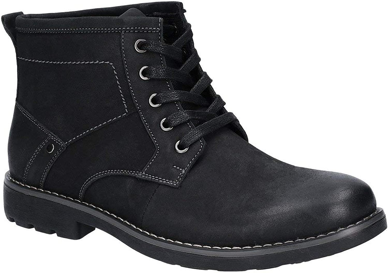 Hush Puppies Mens Duke Leather Chukka Boot