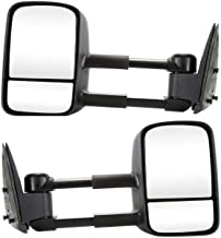 Prime Choice Auto Parts KAPGM1320416PR Pair of Left and Right Manual Towing Side View Mirrors