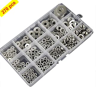 Aexit 8mm 5//16 Nuts Wingnut Set Hardware Stainless Steel Thumb Panel Nuts Nut Fasteners