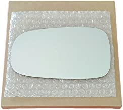 Driver Left Side Replacement Mirror Glass and Adhesive for 2003-2011 Saab 9-3 or 2003-2009 Saab 9-5