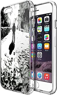 Case Phone Anti-Scratch Cover Motion Picture Inking Inspired Classic Movies (4.7-inch Diagonal Compatible with iPhone 7, iPhone 8)