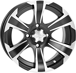 ITP 14-19 Polaris RANRZR1000XE SS312 Wheel (Front / 14X6) (Machined Black)