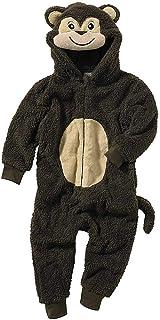 adf9e77e16015 Pyjama Combinaison Garçon Animal Crazy Polaire Douillet Ultradoux Singe à  Poils Longs